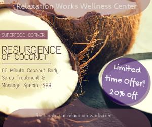 Limited Offer coconut body scrub