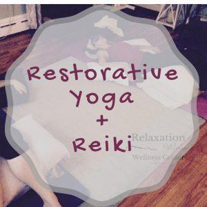restorative yoga reiki