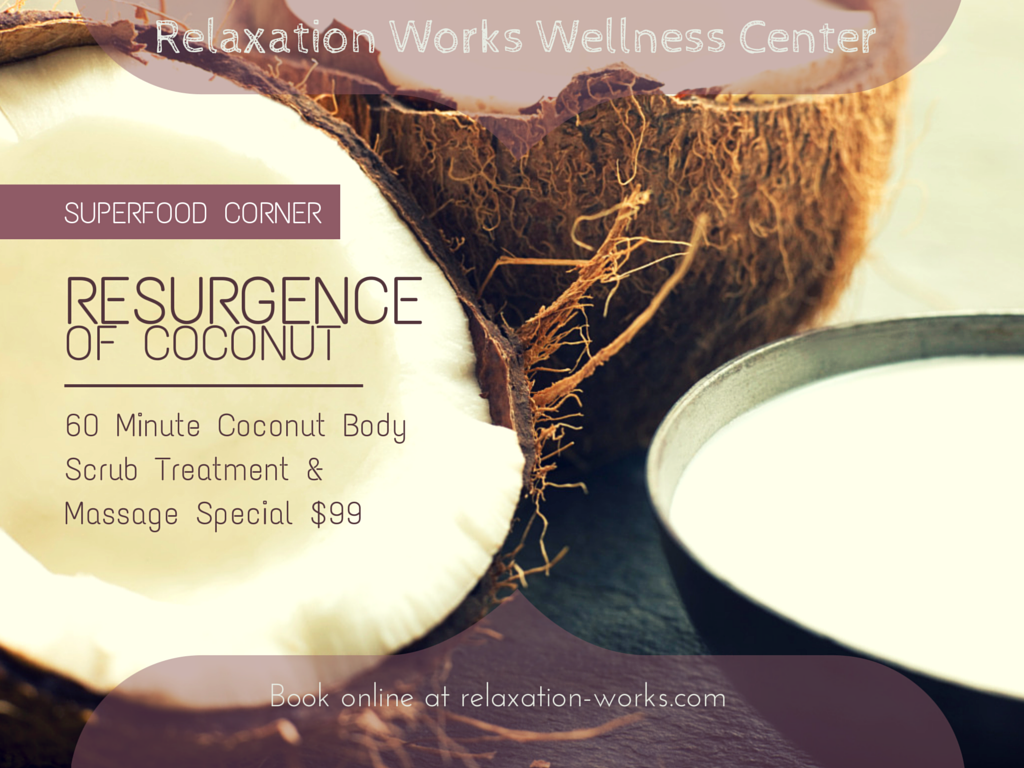 coconut body scrub treatment