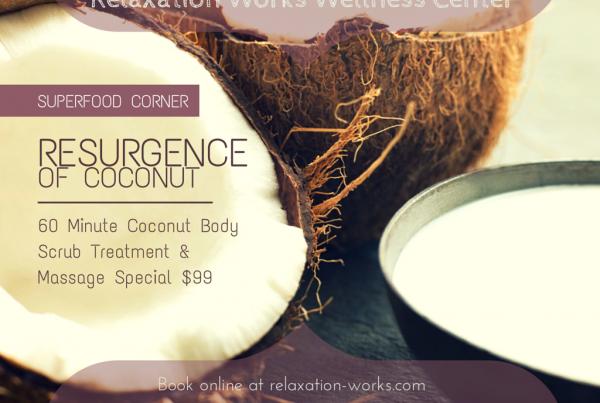 coconut body scrub treatment