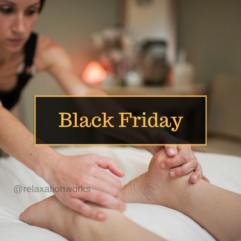 Black Friday is Here: Massage, Reflexology, Couples Massage Training Class