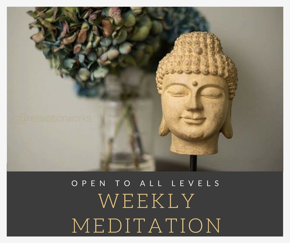 Weekly Meditation is here! Clear your mind, open your heart <3.